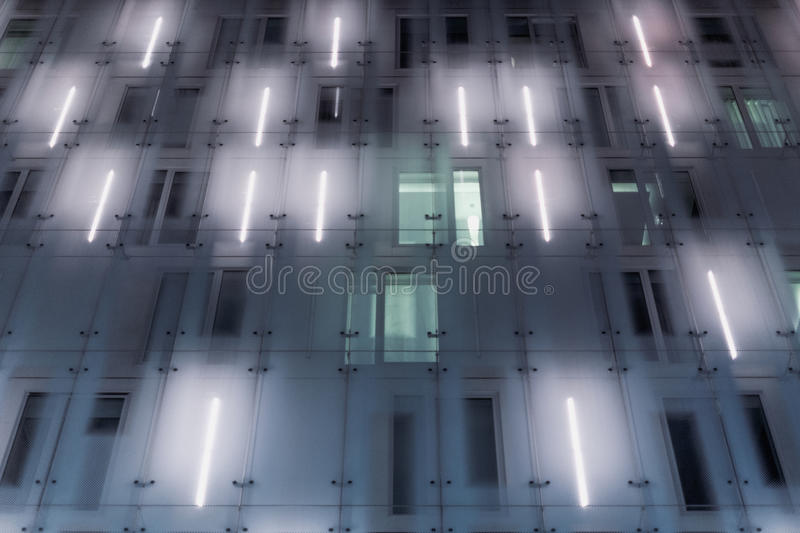 Download Grey And White Concrete Building Stock Image - Image of lights, photo: 83012505