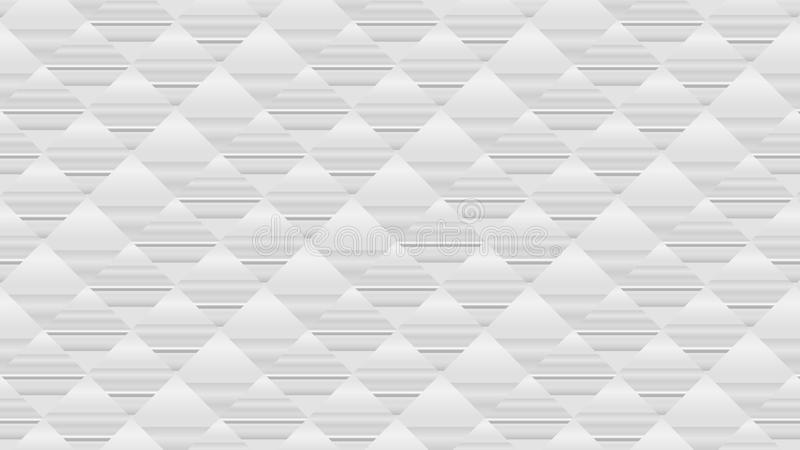 Grey white rhombuses in an abstract background. futuristic designs texture. Abstract grey white geometric background of rhombuses. grey scale geometric texture vector illustration