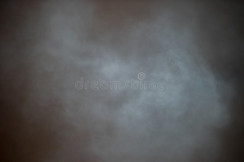 Grey White Smoke no fundo preto foto de stock royalty free