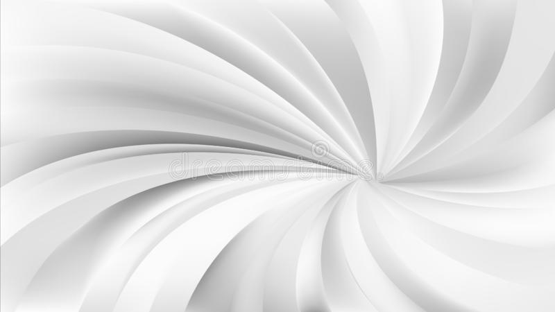 Grey and White Swirling Radial Background. Beautiful elegant Illustration graphic art design vector illustration