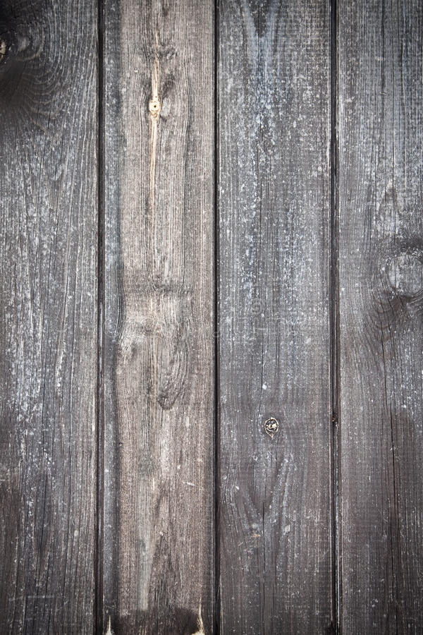 Grey wood board. Texture of a grey wood board with a soft vignetted royalty free stock images