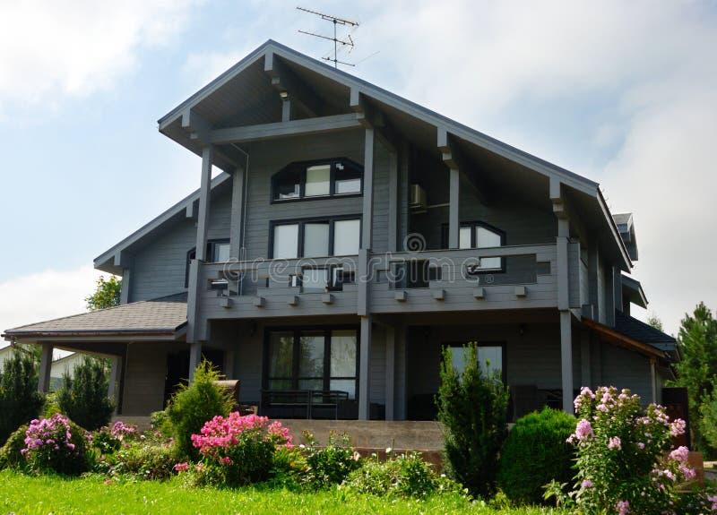 Grey Wooden House fotografía de archivo libre de regalías