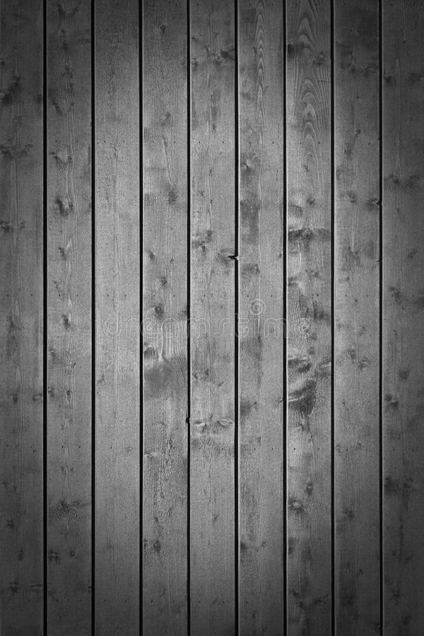 Grey wooden plank wall. Batten board background royalty free stock photography