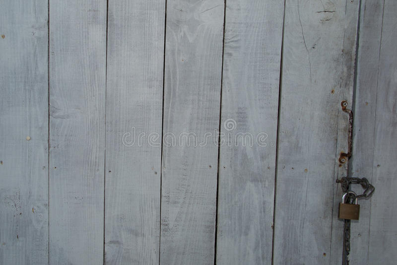 Grey wooden texture for background usage. Texture of grey wooden fence. royalty free stock image
