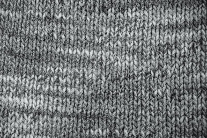 Wool scarf texture close up. Knitted jersey background with a re royalty free stock photos