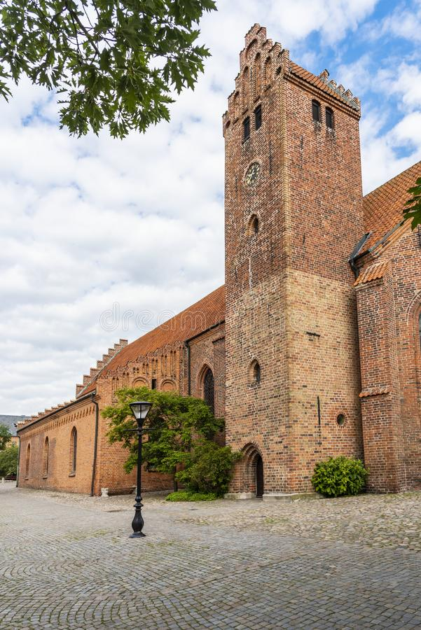 Greyfriars Abbey Ystad Sweden stock afbeelding