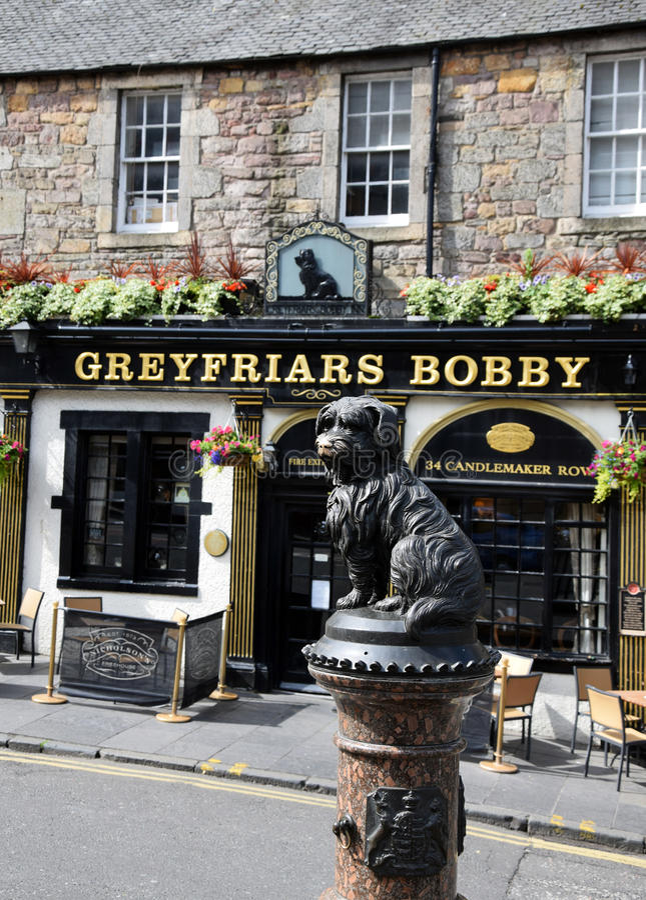 Greyfriars Bobby stock afbeelding