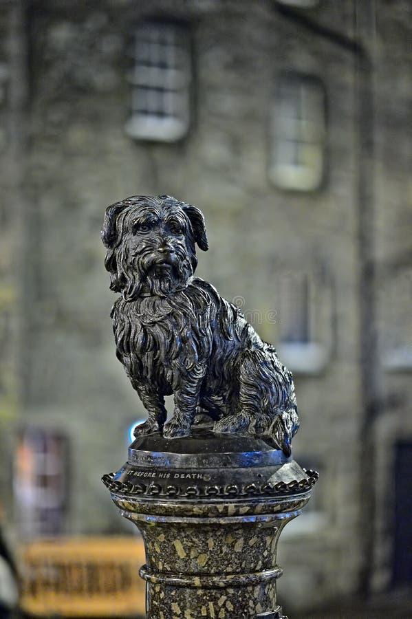Download Greyfriars Bobby, At Night, Edinburgh, Scotland Stock Image - Image: 17947483