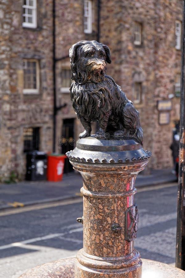 Greyfriars Bobby Statue - Edimbourg, Ecosse photo stock
