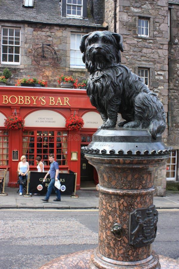 greyfriars bobby statue in edinburgh editorial photography