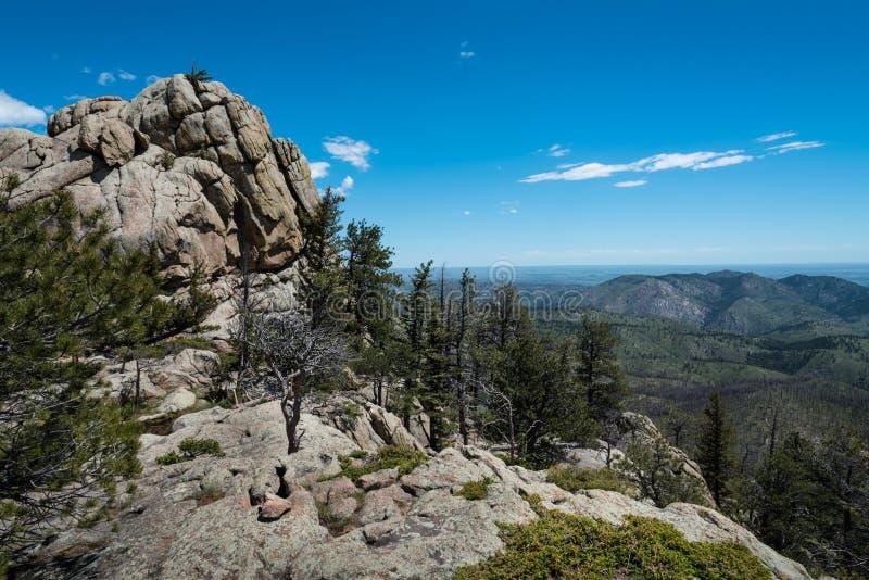 Greyrock, barranco de Poudre, Colorado imagen de archivo