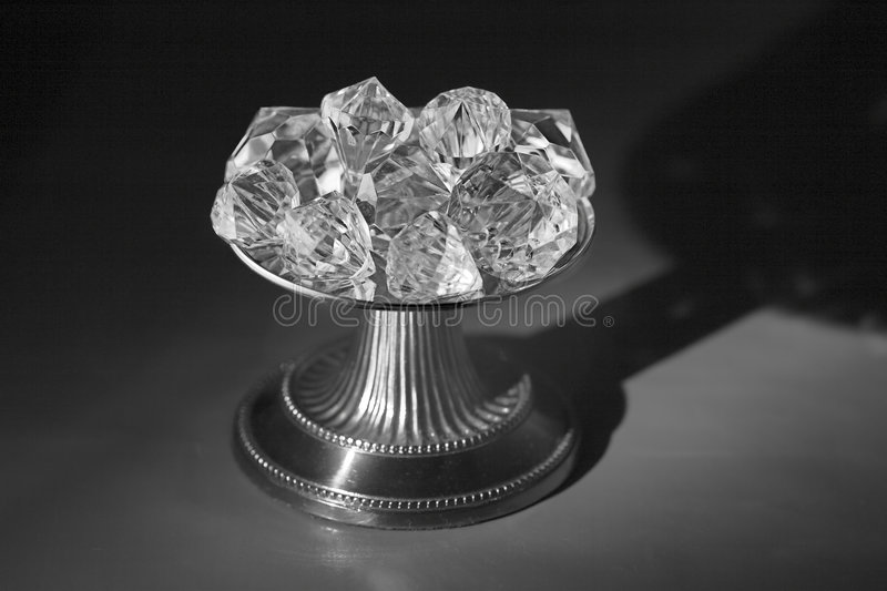 Download Greyscale Diamond Pedestal stock photo. Image of grade - 178752