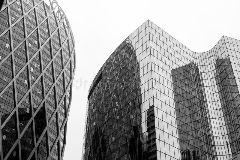 Greyscale Photo Of Glass Window Buildings Free Public Domain Cc0 Image