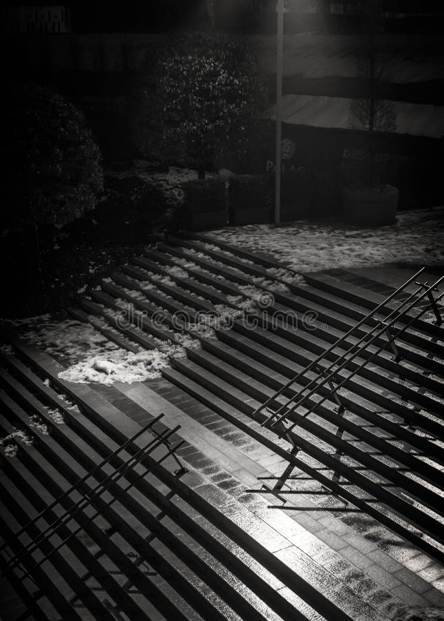 Greyscale Photo Of Staircase Free Public Domain Cc0 Image