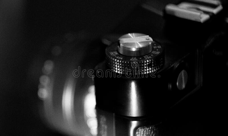 Greyscale Photography Of Camera Free Public Domain Cc0 Image