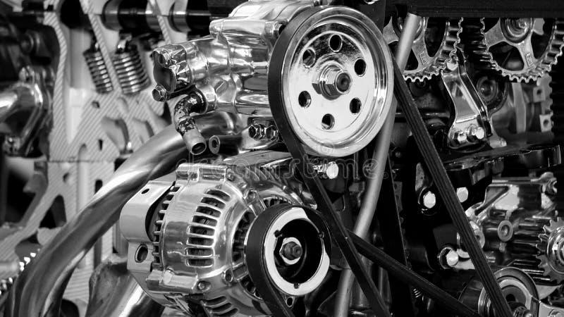 Greyscale Photography Of Car Engine Free Public Domain Cc0 Image