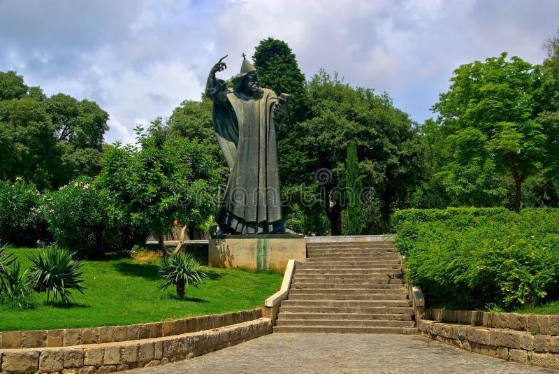 Grgur Statua Ninski obraz royalty free
