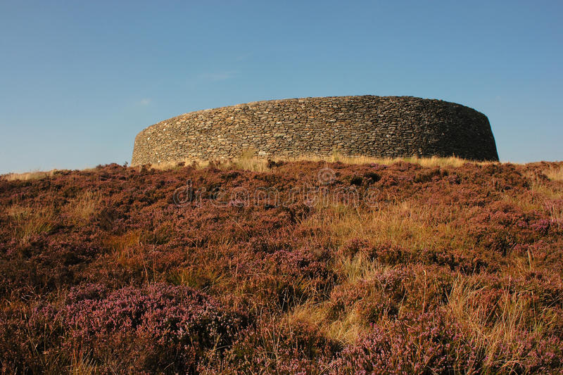 Grianan of Aileach royalty free stock images