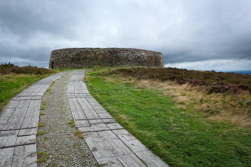 Grianan Aileach pierścionku fort obraz royalty free
