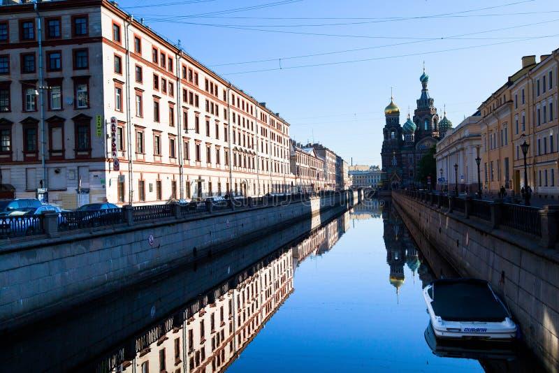 Download Griboyedov Kanałowy Bulwar W St. Petersburg, Rosja. Obraz Editorial - Obraz złożonej z stary, kanał: 28951720