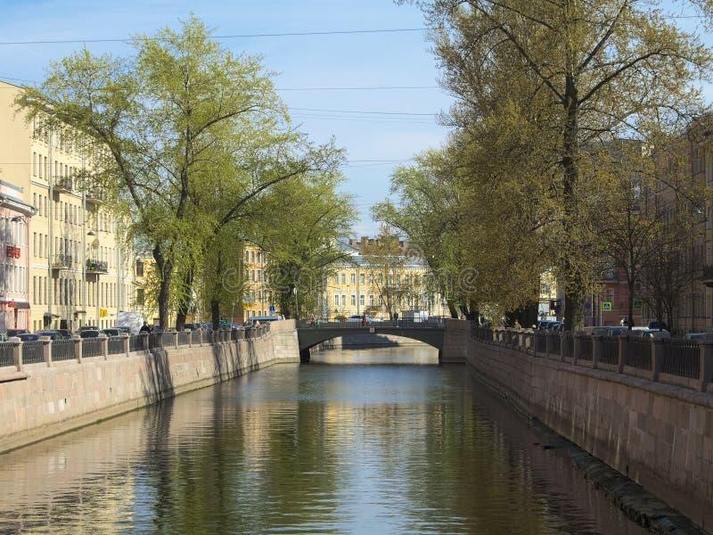 Griboyedov Kanal stockfotos