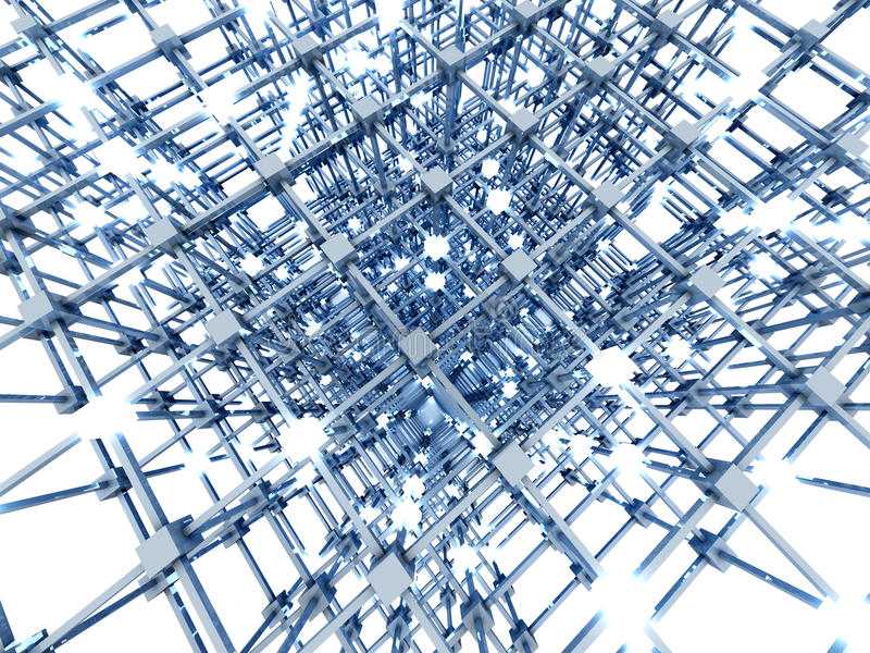 Download The Grid stock illustration. Image of grid, distributed - 26850080