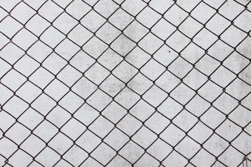 Grid Cell Background Old Rusty Metal Mesh Wire Stock Illustration ...
