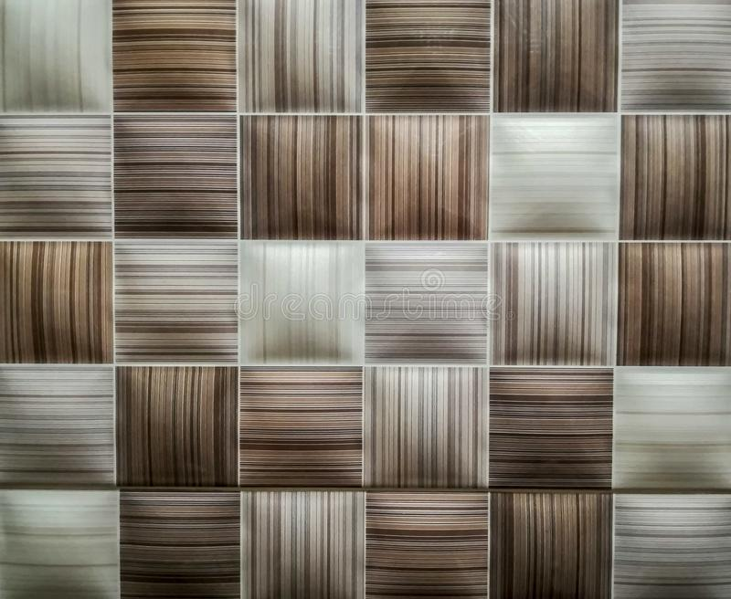 Grid with horizontal and vertical lines. In brown tones stock photo