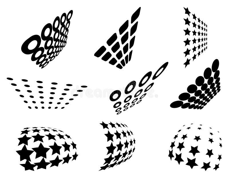 grid patterns ελεύθερη απεικόνιση δικαιώματος