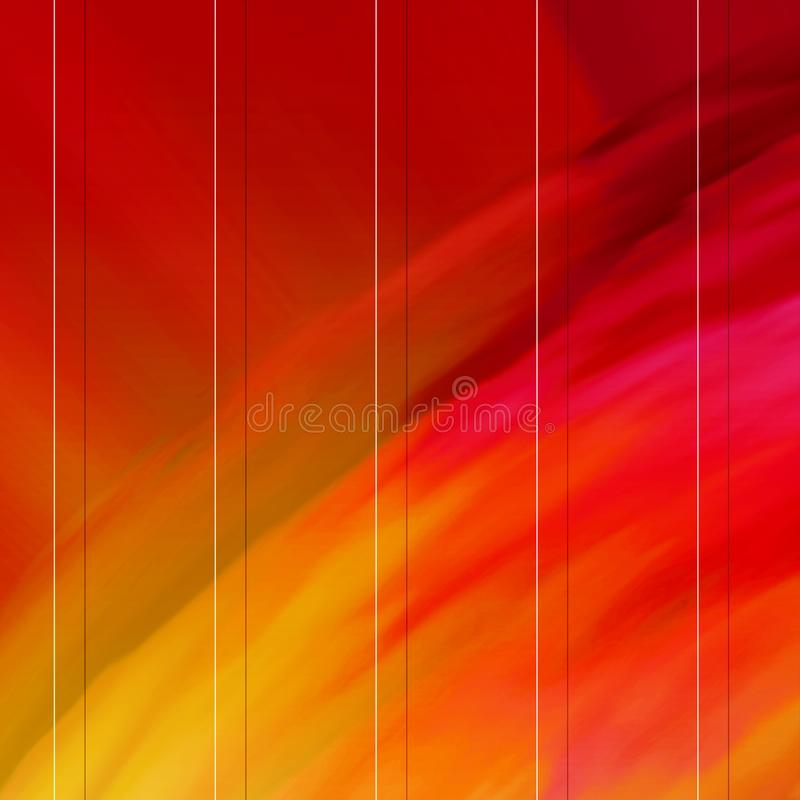 Grid style canvas paint. Brush strokes hand drawn canvas print. stock illustration