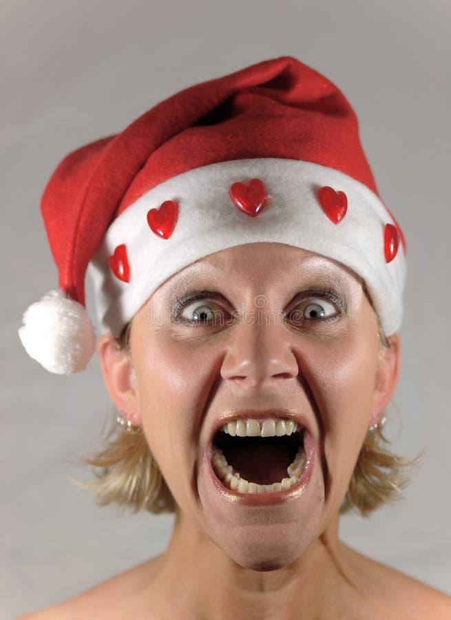 Download Grida della sig.ra Santa fotografia stock. Immagine di dicembre - 3134582