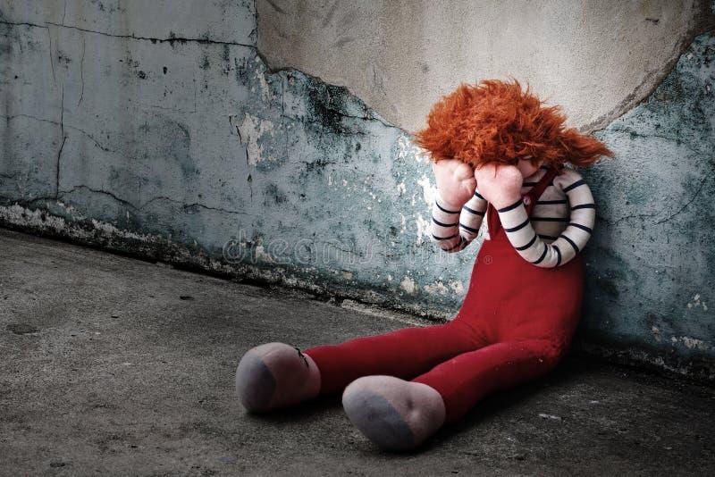 Gridare della bambola immagine stock libera da diritti
