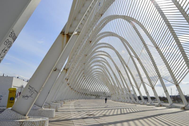 Grieche das Olympiastadion stockfotos