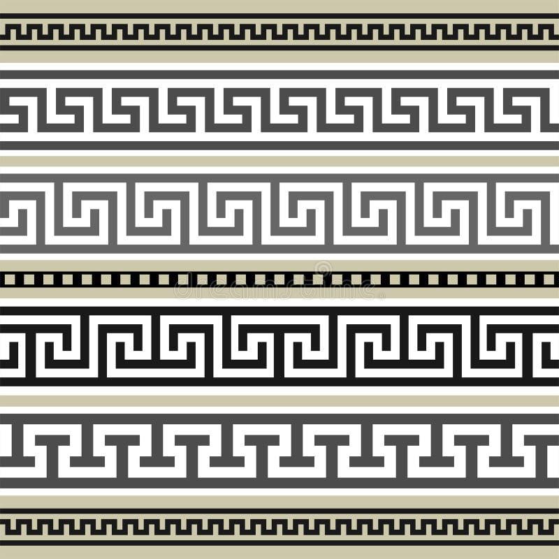 Grieche fasst Ansammlung ein lizenzfreie abbildung