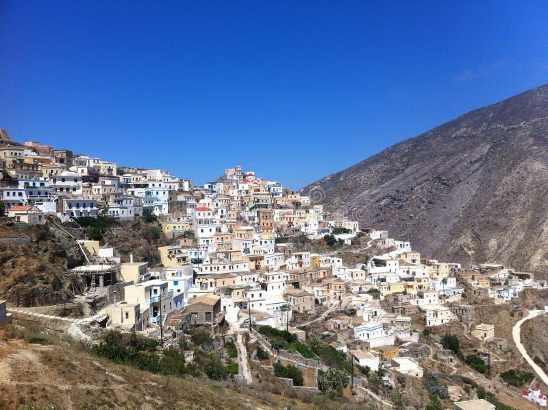 Grieche Favela in Olympos lizenzfreies stockfoto