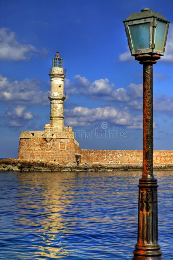 Griechenland - Chania lizenzfreies stockbild