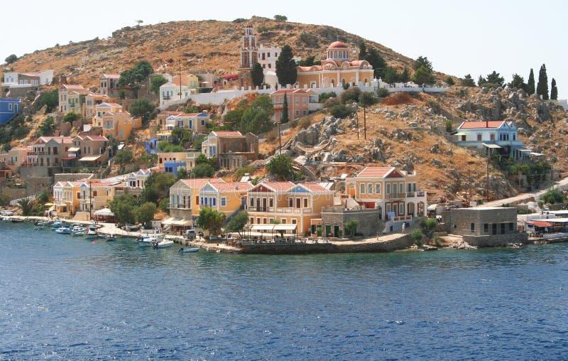 Griechenland. Insel Symi lizenzfreies stockfoto