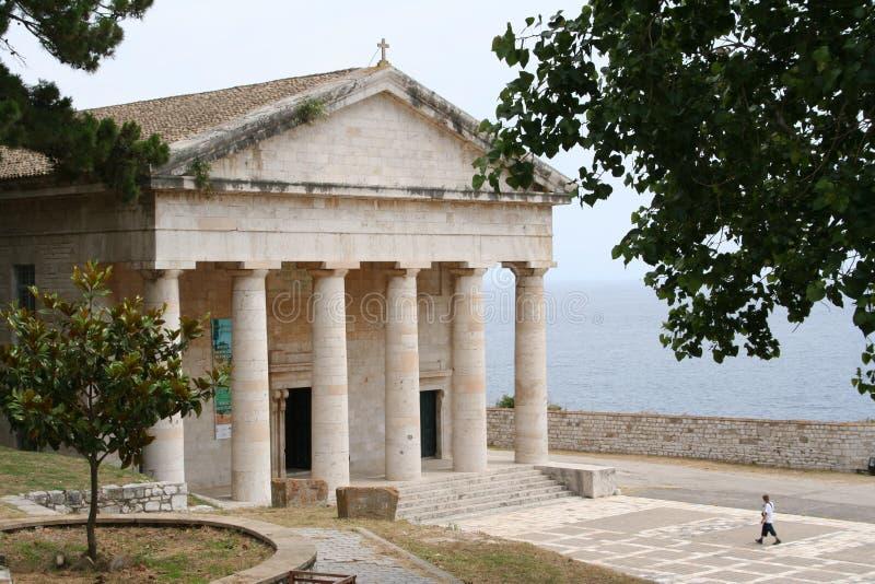 Griechenland. Korfu-Stadt. lizenzfreie stockfotografie