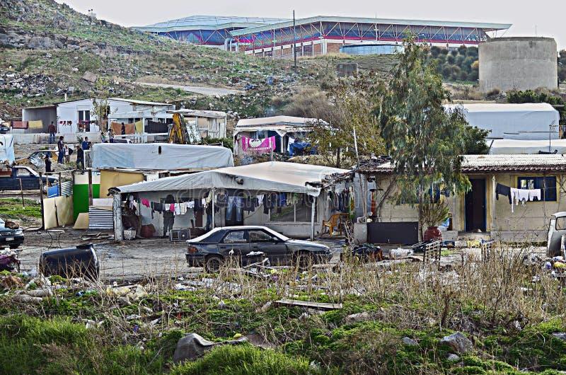 Griechenland, Kreta, Sozialimmigration stockfotografie