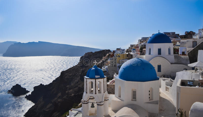 Griechenland Santorini stockfotos