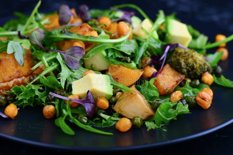 Griechesalat des strengen Vegetariers stockfotos