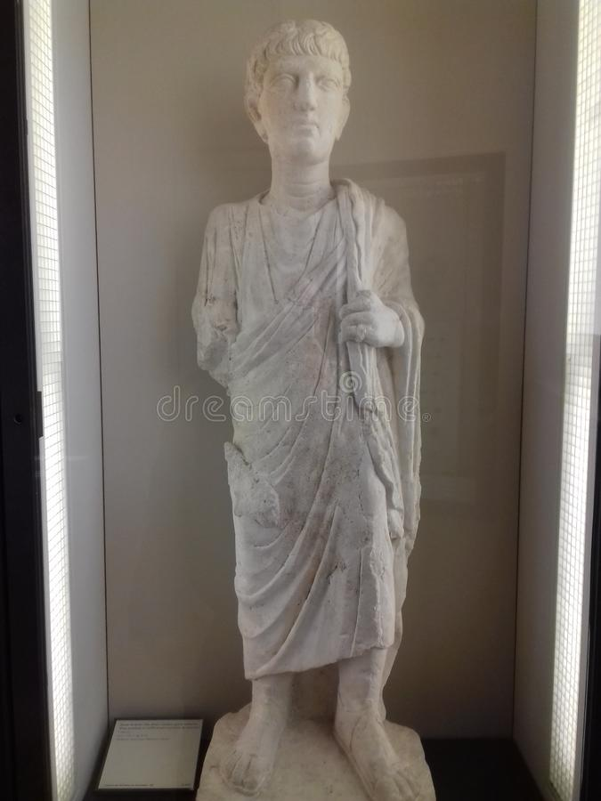 Griechische alte Statue lizenzfreie stockfotografie
