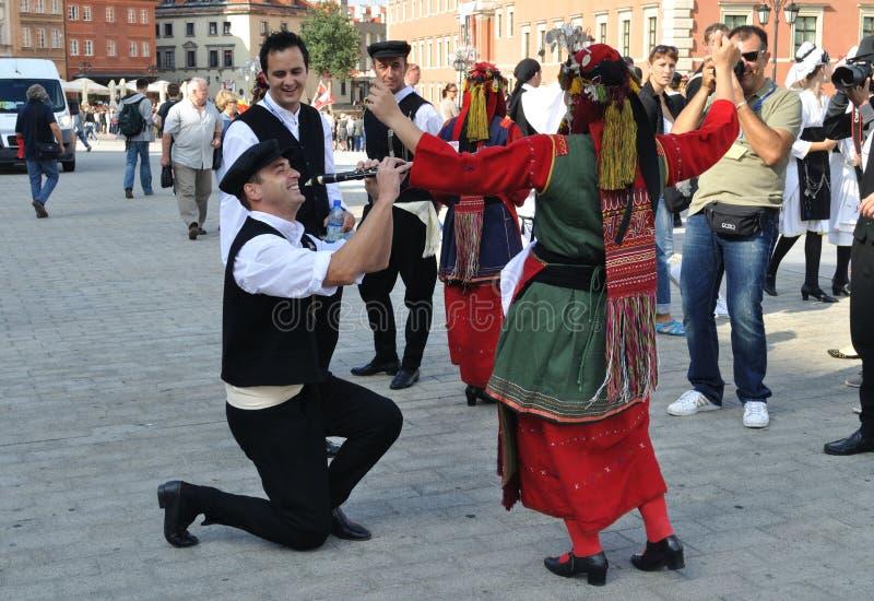Griechische Folklore lizenzfreies stockbild