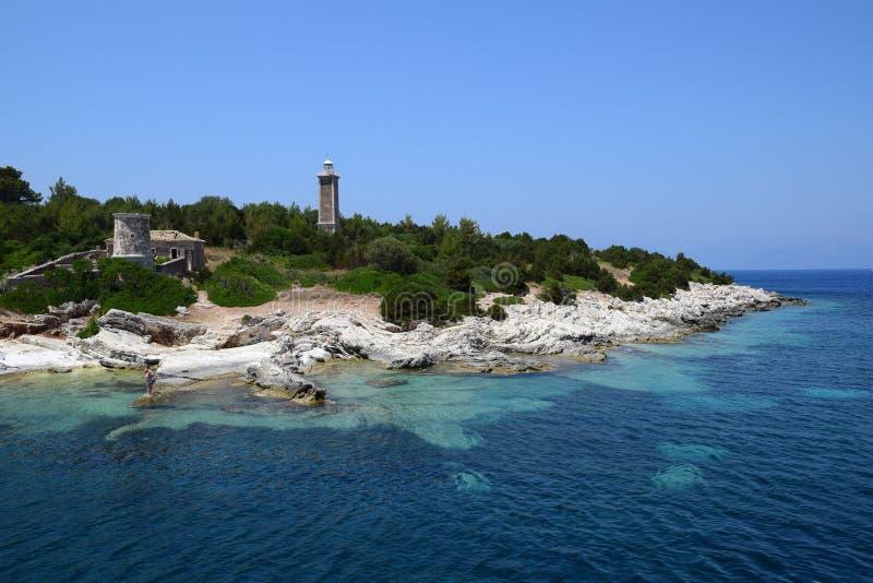 Griechische Insel lizenzfreie stockfotografie