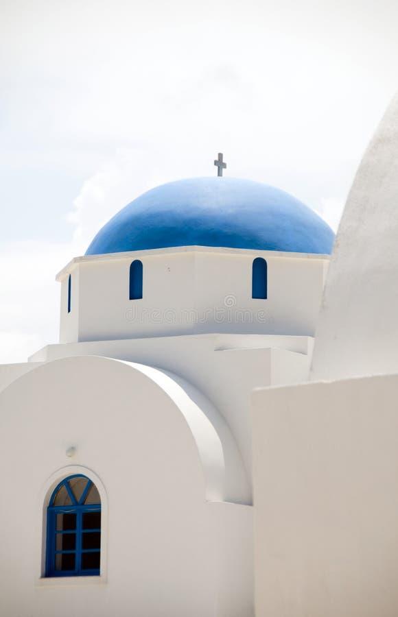 Griechische Insel-Kirche Antiparos Cycladen Griechenland lizenzfreie stockfotos
