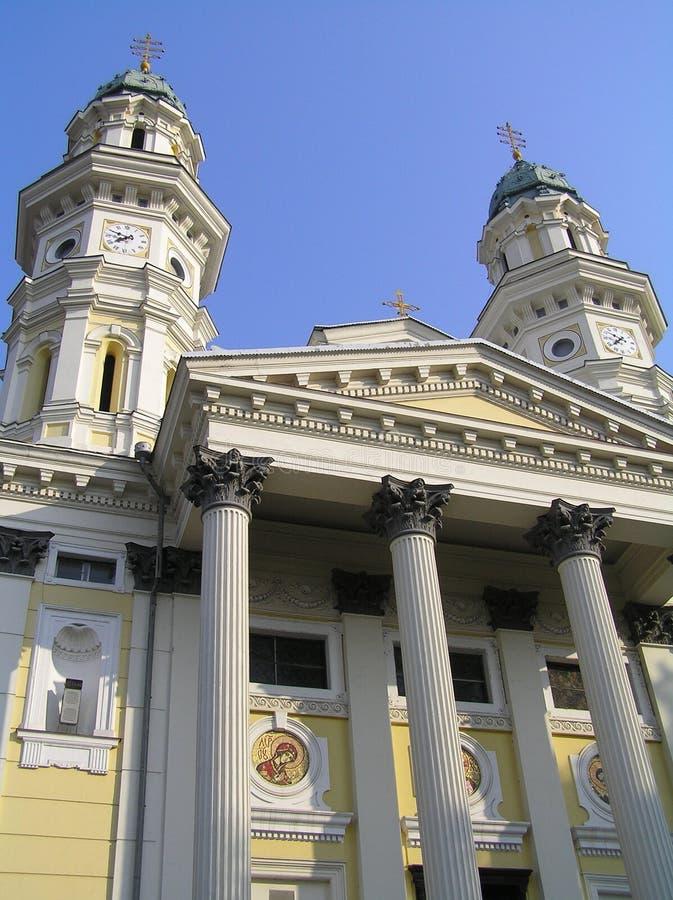 Griechische katholische Kirche stockfoto