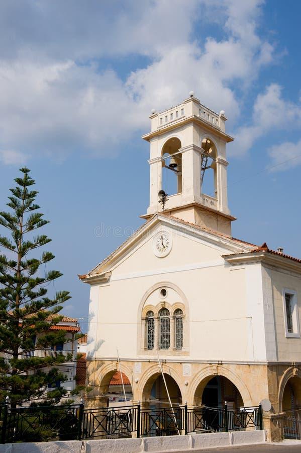 Griechische Kirche lizenzfreie stockfotografie