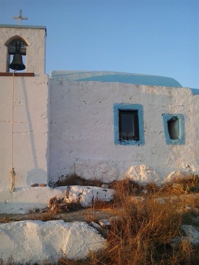 Griechische Kirche lizenzfreie stockfotos