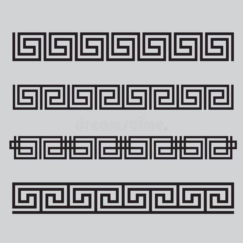 Griechische Muster Grenze Grecian Ornament 9
