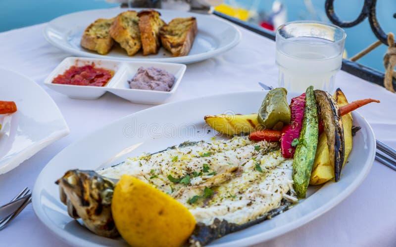 Griechische Nahrung stockbild